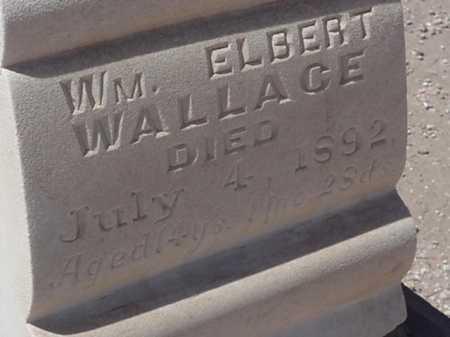 WALLACE, EILLIAM ELBERT - Maricopa County, Arizona | EILLIAM ELBERT WALLACE - Arizona Gravestone Photos