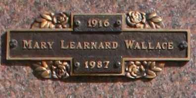 WALLACE, MARY - Maricopa County, Arizona   MARY WALLACE - Arizona Gravestone Photos