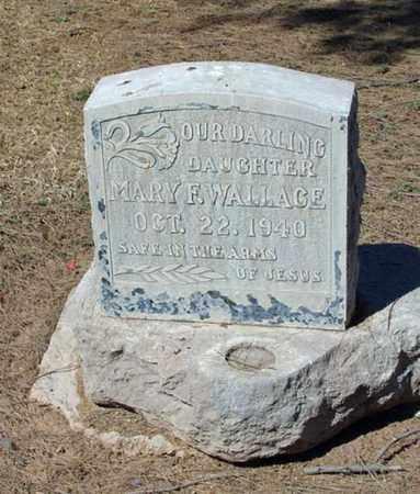 WALLACE, MARY FRANCES - Maricopa County, Arizona   MARY FRANCES WALLACE - Arizona Gravestone Photos