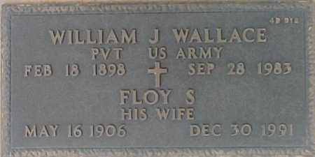 WALLACE, FLOY S. - Maricopa County, Arizona | FLOY S. WALLACE - Arizona Gravestone Photos