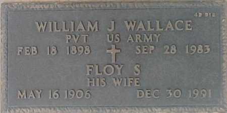 WALLACE, WILLIAM J. - Maricopa County, Arizona | WILLIAM J. WALLACE - Arizona Gravestone Photos