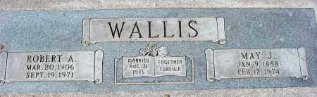 WALLIS, ROBERT A. - Maricopa County, Arizona | ROBERT A. WALLIS - Arizona Gravestone Photos