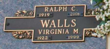 WALLS, RALPH C - Maricopa County, Arizona   RALPH C WALLS - Arizona Gravestone Photos