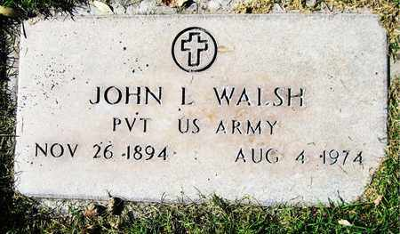 WALSH, JOHN L. - Maricopa County, Arizona | JOHN L. WALSH - Arizona Gravestone Photos