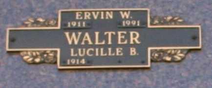 WALTER, ERVIN W - Maricopa County, Arizona | ERVIN W WALTER - Arizona Gravestone Photos
