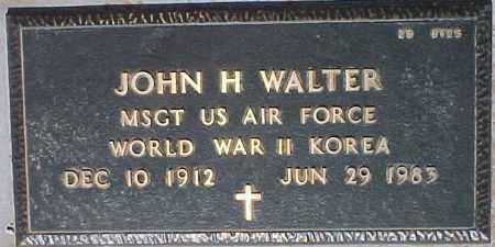 WALTER, JOHN H. - Maricopa County, Arizona | JOHN H. WALTER - Arizona Gravestone Photos