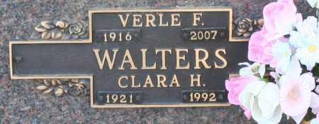 WALTERS, VERLE F - Maricopa County, Arizona | VERLE F WALTERS - Arizona Gravestone Photos