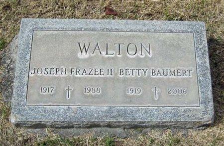 WALTON, BETTY - Maricopa County, Arizona | BETTY WALTON - Arizona Gravestone Photos