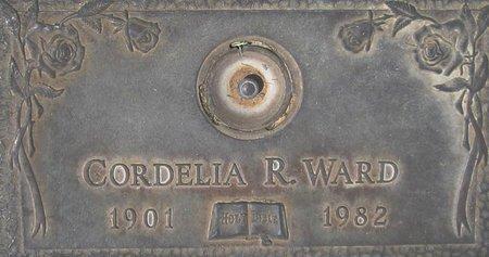 WARD, CORDELIA R. - Maricopa County, Arizona   CORDELIA R. WARD - Arizona Gravestone Photos