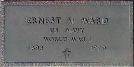 WARD, ERNEST M. - Maricopa County, Arizona | ERNEST M. WARD - Arizona Gravestone Photos