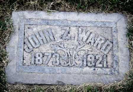 WARD, JOHN Z. - Maricopa County, Arizona | JOHN Z. WARD - Arizona Gravestone Photos