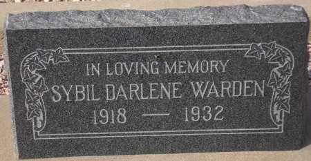 WARDEN, SYBIL DARLENE - Maricopa County, Arizona | SYBIL DARLENE WARDEN - Arizona Gravestone Photos