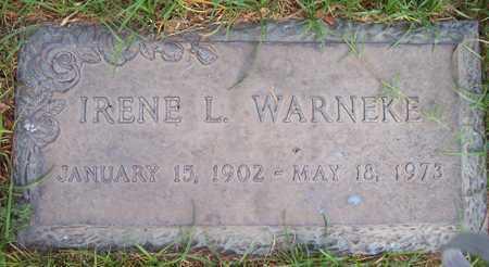 WARNEKE, IRENE L. - Maricopa County, Arizona | IRENE L. WARNEKE - Arizona Gravestone Photos