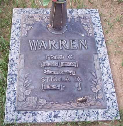 WARREN, STELLA D. - Maricopa County, Arizona | STELLA D. WARREN - Arizona Gravestone Photos