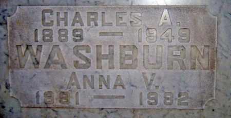 WASHBURN, CHARLES AITKEN - Maricopa County, Arizona | CHARLES AITKEN WASHBURN - Arizona Gravestone Photos