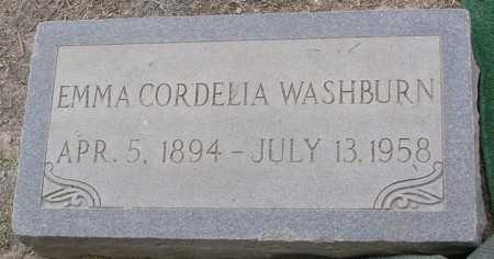 WASHBURN, EMMA CORDELIA - Maricopa County, Arizona | EMMA CORDELIA WASHBURN - Arizona Gravestone Photos