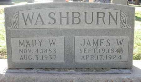 WASHBURN, JAMES W. - Maricopa County, Arizona | JAMES W. WASHBURN - Arizona Gravestone Photos