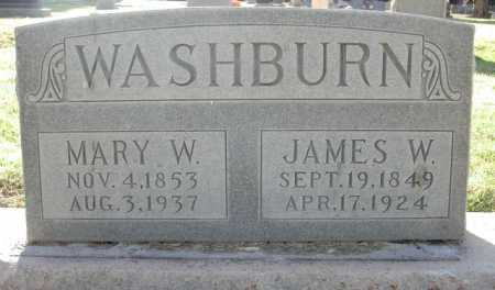 WASHBURN, MARY W. - Maricopa County, Arizona | MARY W. WASHBURN - Arizona Gravestone Photos