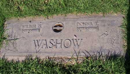 WASHOW, DONNA T. - Maricopa County, Arizona | DONNA T. WASHOW - Arizona Gravestone Photos
