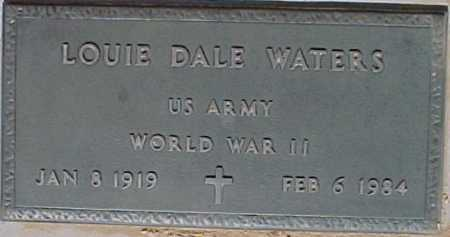 WATERS, LOUIE DALE - Maricopa County, Arizona | LOUIE DALE WATERS - Arizona Gravestone Photos