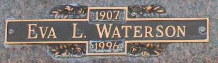 WATERSON, EVA L - Maricopa County, Arizona | EVA L WATERSON - Arizona Gravestone Photos
