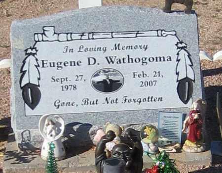 WATHOGOMA, EUGENE D. - Maricopa County, Arizona | EUGENE D. WATHOGOMA - Arizona Gravestone Photos