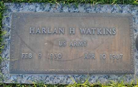 WATKINS, HARLAN H. - Maricopa County, Arizona   HARLAN H. WATKINS - Arizona Gravestone Photos