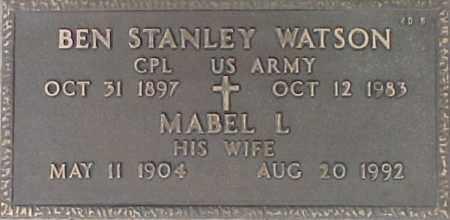 WATSON, MABEL L. - Maricopa County, Arizona | MABEL L. WATSON - Arizona Gravestone Photos