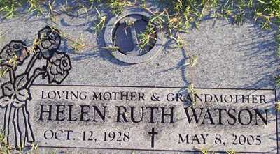 WATSON, HELEN RUTH - Maricopa County, Arizona | HELEN RUTH WATSON - Arizona Gravestone Photos