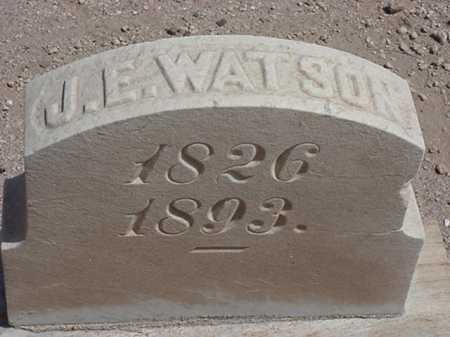 WATSON, JEREMIAH E. - Maricopa County, Arizona | JEREMIAH E. WATSON - Arizona Gravestone Photos