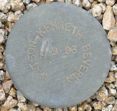 WATSON, KENNETH BEVERLY - Maricopa County, Arizona | KENNETH BEVERLY WATSON - Arizona Gravestone Photos