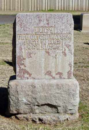 FISHER WATSON, LUCY G. - Maricopa County, Arizona | LUCY G. FISHER WATSON - Arizona Gravestone Photos