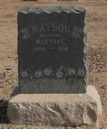 WATSON, MARTHA L. - Maricopa County, Arizona   MARTHA L. WATSON - Arizona Gravestone Photos
