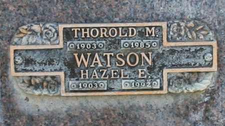 WATSON, HAZEL E - Maricopa County, Arizona   HAZEL E WATSON - Arizona Gravestone Photos