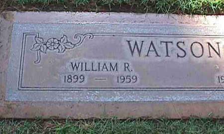WATSON, WILLIAM R. - Maricopa County, Arizona   WILLIAM R. WATSON - Arizona Gravestone Photos