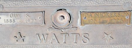 WATTS, IDA - Maricopa County, Arizona | IDA WATTS - Arizona Gravestone Photos