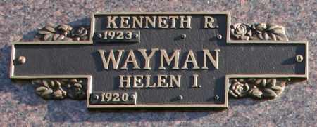 WAYMAN, KENNETH R - Maricopa County, Arizona | KENNETH R WAYMAN - Arizona Gravestone Photos