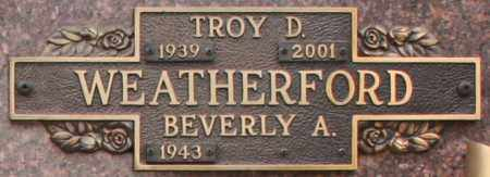WEATHERFORD, BEVERLY A - Maricopa County, Arizona | BEVERLY A WEATHERFORD - Arizona Gravestone Photos