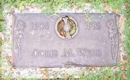 WEBB, DORIS M. - Maricopa County, Arizona   DORIS M. WEBB - Arizona Gravestone Photos