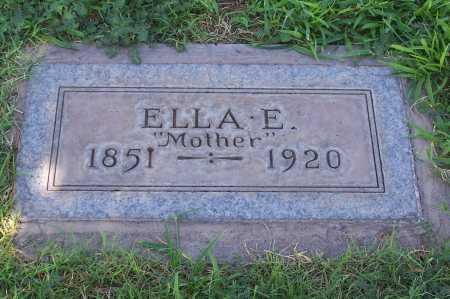 WEBB, ELLA E. - Maricopa County, Arizona | ELLA E. WEBB - Arizona Gravestone Photos