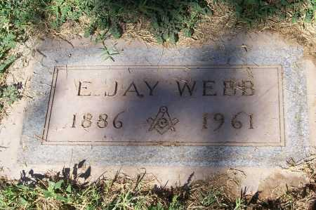WEBB, E. JAY - Maricopa County, Arizona | E. JAY WEBB - Arizona Gravestone Photos