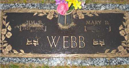 WEBB, MARY D. - Maricopa County, Arizona | MARY D. WEBB - Arizona Gravestone Photos