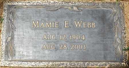 WEBB, MAMIE E. - Maricopa County, Arizona | MAMIE E. WEBB - Arizona Gravestone Photos