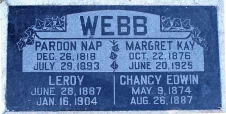 WEBB, PARDON NAP - Maricopa County, Arizona | PARDON NAP WEBB - Arizona Gravestone Photos