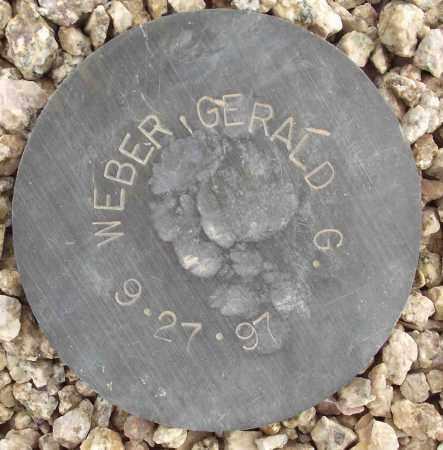 WEBER, GERALD G. - Maricopa County, Arizona | GERALD G. WEBER - Arizona Gravestone Photos