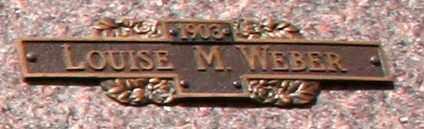 WEBER, LOUISE M - Maricopa County, Arizona   LOUISE M WEBER - Arizona Gravestone Photos
