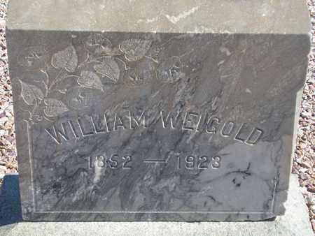 WEIGOLD, WILLIAM - Maricopa County, Arizona | WILLIAM WEIGOLD - Arizona Gravestone Photos