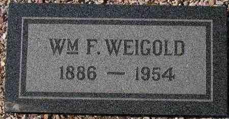 WEIGOLD, WM F. - Maricopa County, Arizona | WM F. WEIGOLD - Arizona Gravestone Photos