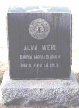 WEIR, ALVA - Maricopa County, Arizona | ALVA WEIR - Arizona Gravestone Photos