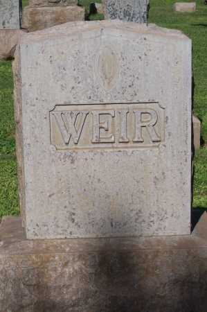WEIR, FAMILY MARKER - Maricopa County, Arizona | FAMILY MARKER WEIR - Arizona Gravestone Photos